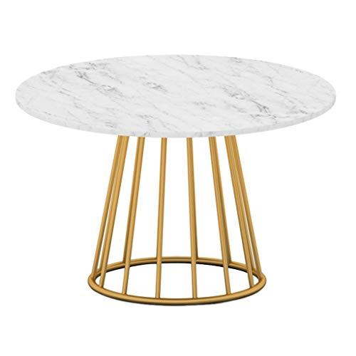CHANG-dq Haushalts-Eisen-Kunst-kleiner seitlicher Tisch, kreatives Wohnzimmer-runder kleiner Kaffee-Tabellen-Seiten-Ecke einige...