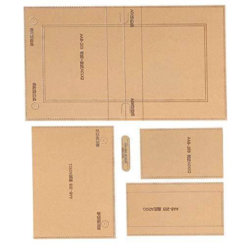 Craft Acryl Schablone Vorlage, Ledermuster Acryl Vorlage, praktisch langlebig für Handtasche Verwandte Brieftasche Freunde