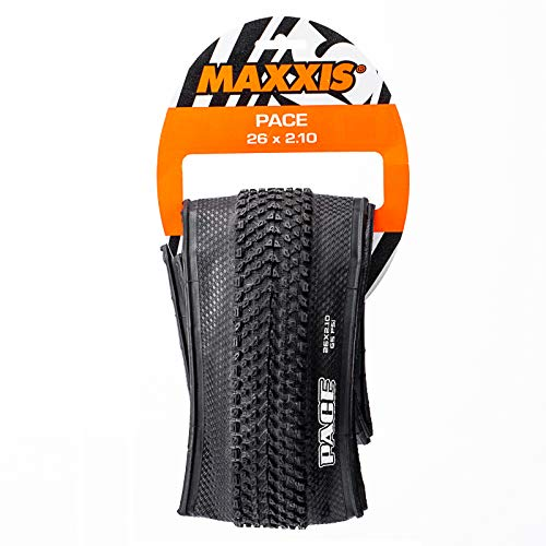 BUCKLOS MAXXIS US-Stock MTB Fold Tire 26/27.5 x 1.95、26 × 2.1, Flimsy/Puncture Resistant Mountain Bike Tires, 60TPI Fold Bicycle Tires Fast Rolling Tubeless Tires