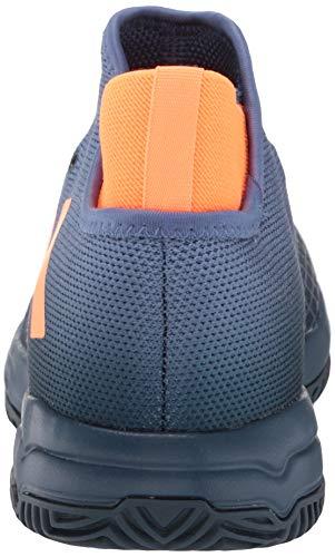 Product Image 3: adidas Phenom Tennis Shoe, Crew Navy/Screaming Orange/Crew Blue, 5 US Unisex Big Kid