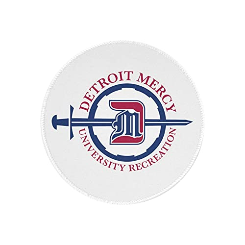 University of Detroit Mercy Mouse Pad Round Gaming Mouse Pad Creative Custom Non-Slip Mouse Mat