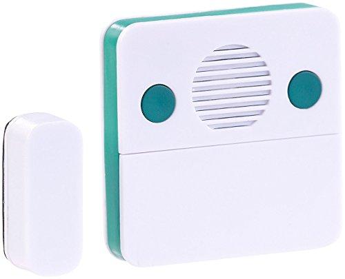 VisorTech Kühlschrankwarner: Universal-Türschließ-Erinnerungs-Alarm mit 15/30 Sekunden Auslösezeit (Kühlschrank Alarm bei offener Tür)