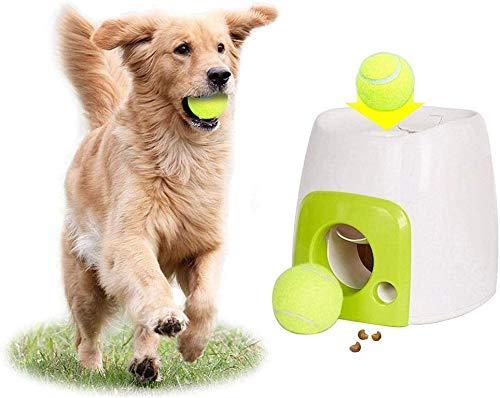 NOBRAND Ballwerfer für große Hunde, automatisch, wiederaufladbar, Tennis-Wurfmaschine, Spielzeug für geistiges Training