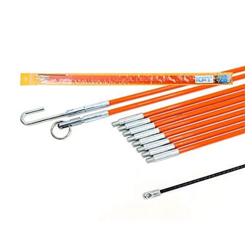 5100Fリㅡドパㅡツフィッシュテㅡプ(100cm X 10pcs)リㅡルワイヤㅡプㅡラㅡツㅡル 5100F Lead Part Fish Tape (100cm X 10pcs) Reel Wire Pullers Tool