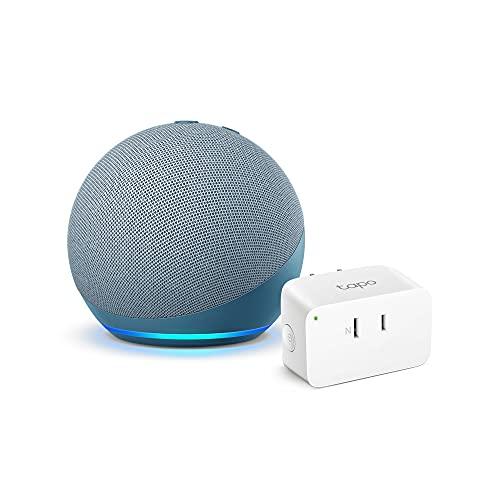 【セット買い】Echo Dot (第4世代) トワイライトブルー + TP-Link Tapo スマートプラグ