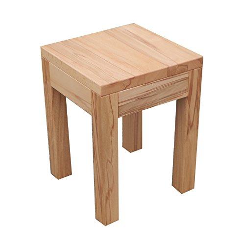 Table hetre Noyau Massif. (hetre Noyau, 30x30x60cm Haut)