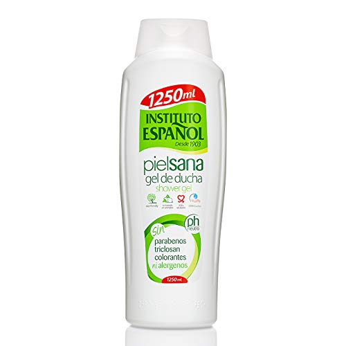 INSTITUTO ESPAÑOL gel de ducha piel sana botella 1250 ml