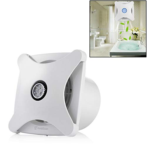 Timemall Douche de Salle de Bain Bonne qualité HGA-150B Cuisine WC Suspendu Ventilateur d'échappement muet