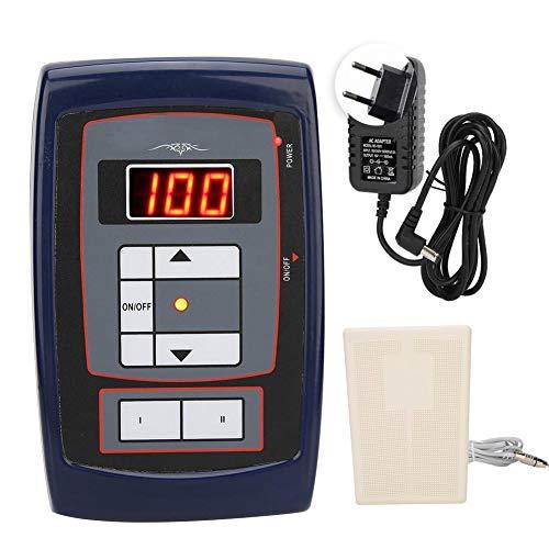 Machine de moteur de puissance de tatouage, accessoire de tatouage de moteur à grande vitesse, dispositif de maquillage de beauté 100-240V(UE)