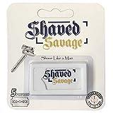 5 Pack refill Safety Razor, Double Edge Razor Blade, Single Blade, Classic Shaving, Wet Shaving. 1 Pack of 5 DE Blades 3-6 Shaves per blade