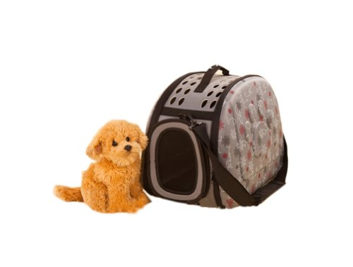 Sac Portable épaule Pet Carrier pour chiens et chats (42 * 26 * 32cm, gris)