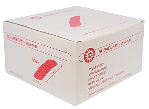 RUDADERM - universal 1,9 cm x 7,6 cm 500 Stk Pflasterstrips
