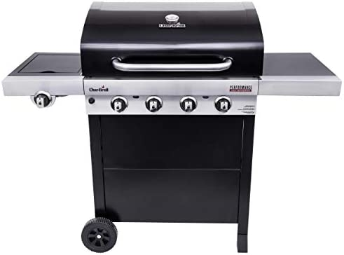 Char Broil 463280219 Performance TRU Infrared 4 Burner Cart Style Gas Grill Black product image