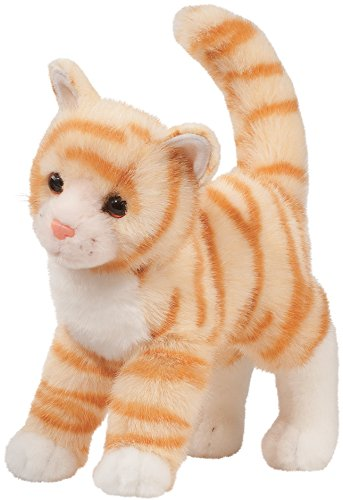 Cuddle Toys 1865Tiffy ORANGE TABBY CAT Katze orange/weiß getigert Kuscheltier Plüschtier Stofftier Plüsch Spielzeug