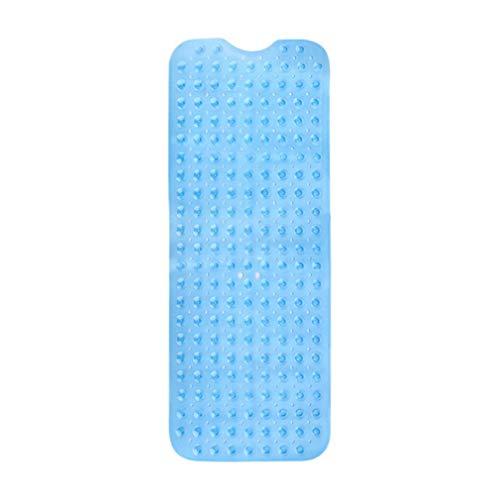 Badmatten voor douchebak Antislip antibacteriële badmat Douchemat Helderblauw