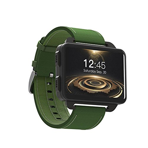 LEMFO LEM4 Pro Smart Orologio Supporto telefonico GPS SIM Card MP4 Bluetooth WIFI Smartwatch Supper Batteria 1GB + 16GB Orologio per iPhone ios Telefoni Android Samsung LG Huawei Uomo Donna Bambini