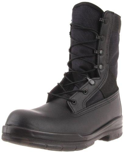 "Bates 8"" Tropical Seals DuraShocks Boot Men 14 Black"