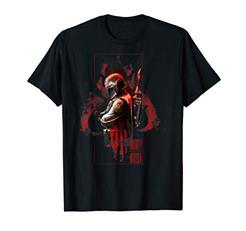 Star Wars Boba Fett Hunter Box Mandalorian Graphic T-Shirt