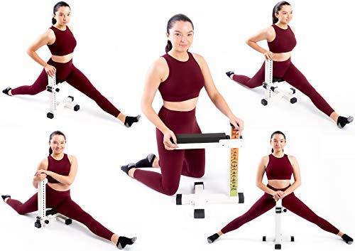 Splits Easy: The ONLY Leg Stretcher For Front AND Side Splits. Heavy Duty Leg Machine For Martial Arts, Yoga, Dancing, Gymnastics, Flexibility