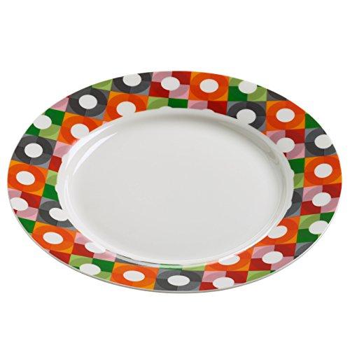 Maxwell & Williams rl0032 Assiette, Porcelaine, Multicolore, 11.4 x 35,6 x 55.2 cm
