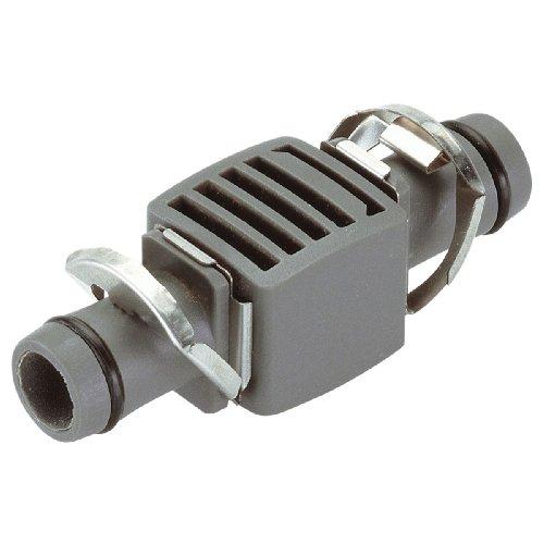 Gardena Micro-Drip-System Verbinder 13 mm (1/2 Zoll): Der Kunststoff-Rohrverbinder zur Verlängerung des Micro-Drip-System Verlegerohrs (8356-20)