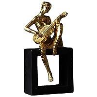 装飾品置物ギフト室内リビングルームの現代のミュージシャンの置物バイオリンの人々の像樹脂工芸品ホームリビングルームの装飾品