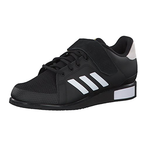 Adidas Power III, Zapatillas de Deporte para Hombre, Negro Core Black Footwear White Matte Gold 0, 36.5 EU