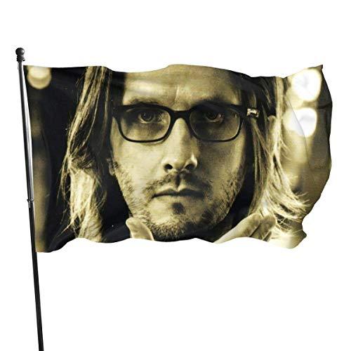 ZhangWenShengd Steven Wilson Transience 3x5 Inch Bandera, Outdoor Banner, Family Banner, Jardín Banner