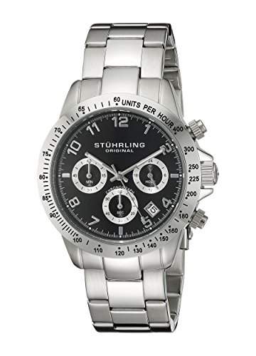 Stuhrling Original Concorso Mens Sports Watch - Analog Quartz...