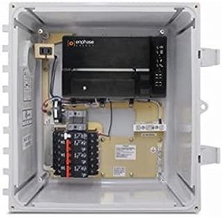 ENPHASE X-IQ-AM1-240-B M AC COMBINER BOX WITH IQ ENVOY GATEWAY 60A 3X 20A BREAKERS