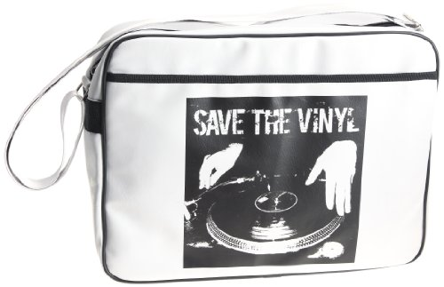Urban Factory Save The Vinyl Tasche für 40,6 cm Notebooks – Vintage Collection
