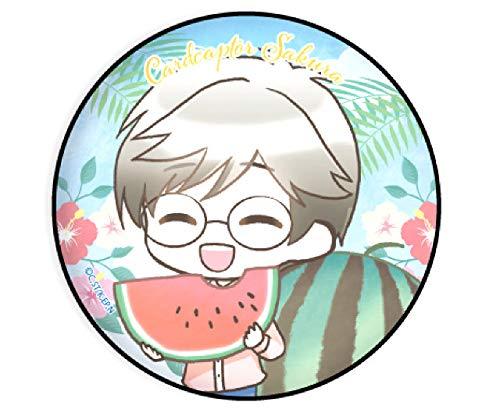 【月城雪兎】 缶バッジ カードキャプターさくら クリアカード編 05 夏Ver.(ミニキャラ)