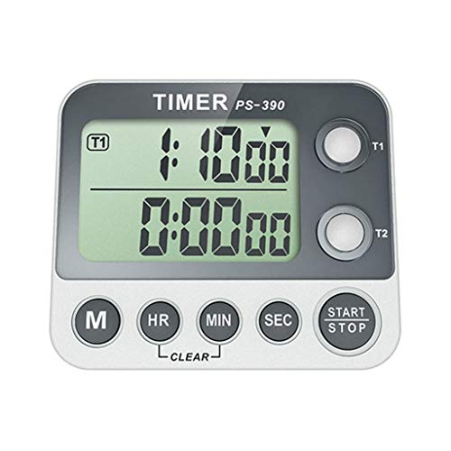 Digital Timer Large Display Cooking Timer with Magnetic Countdown Timer Supplies Big LCD