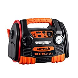 Kinverch Portable Car Jump Starter & Air Compressor