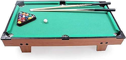 Byx- Toys - Wooden Large Pool Table - Jungen und mädchen - 75x41.5x16.5cm -Spielzeug