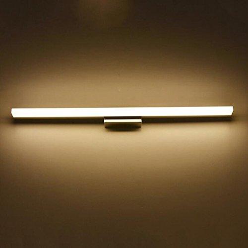 WWWANG Cuarto de baño de la lámpara LED Espejo de baño lámpara de Pared de luz del Espejo del baño lámpara Blanco frío/Caliente Cuarto de baño Blanco de la lámpara lámpara de Pared de baño Espejo de