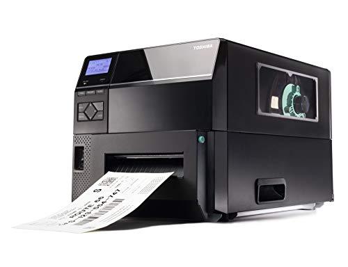 Toshiba TEC B-EX6T3 Industrial Wide Web DT/TT Barcode-Etikettendrucker, für Flachkopfband, 203 dpi