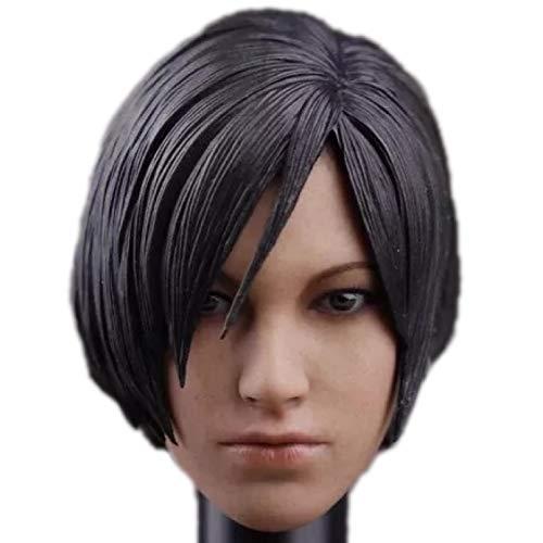 HiPlay 1/6 Scale Female Figure Head Sculpt, Beautiful Girl Doll Head for 12 inch Action Figure TBLeague/Phicen/JIAOUDOLL HS006 (D)