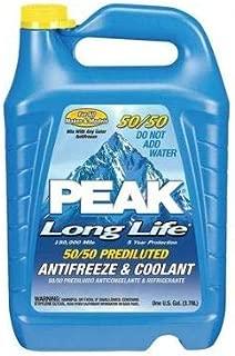 Peak Antifreeze Coolant 50/50 Long Life Prediluted, 1 gal.