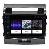Android 9.1 Autoradio GPS-Navigation 9-Zoll-Touch-Display Auto Media Player-Unterstützung...