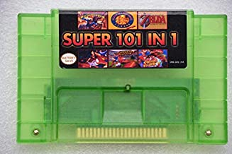 SNES 101 in 1 SNES game cartridge 16 bit 46 pin video game cartridge USA version Save Functions