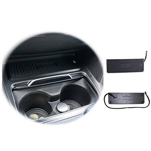 Interior automotriz Montaje del coche del teléfono del sostenedor de taza del ajuste 15W carga rápida sin hilos del cargador del teléfono en forma for BMW F30 F31 F32 F34 F36 F22 330i 335i 328i