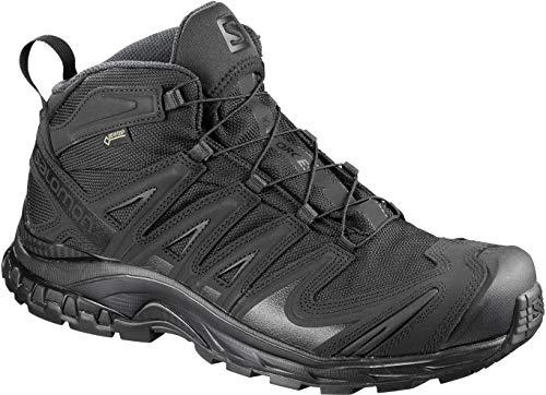 Salomon XA Forces MID GTX Military and Tactical Boot, Black/Black/Black, 12.5
