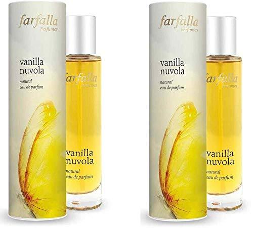 Farfalla Natural Eau de Parfum Vanilla Nuvola, 2 x 50ml