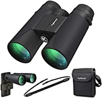 High Power Binoculars, Kylietech 12x42 Binocular for Adults with BAK4 Prism, FMC Lens, Fogproof & Waterproof Great for...