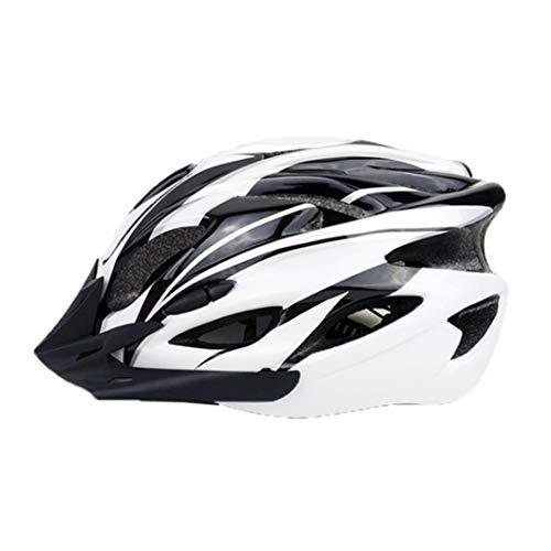 Abnehmbarer Rennrad-Mountainbike-Helm mit 18 Löchern Atmungsaktiver Fahrradhelm Ultraleichter Fahrradhelm Unisex-Verstellbarer Helm
