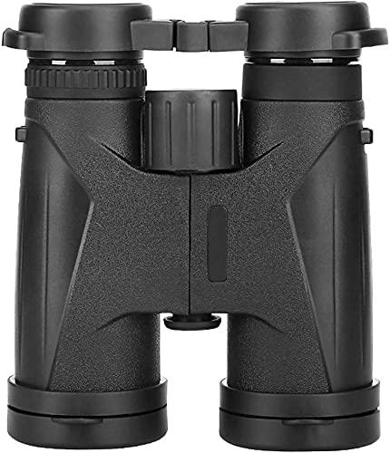 Telescopio Adulto, prismáticos 10x42 para Adultos niños, prismáticos Resistentes al Agua de la Vida compactos con la Noche en Condiciones de Poca luz BAK20 Prisma FMC óptica binoculares telescopio p
