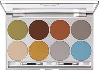 Kryolan 70538 Dermacolor Light Eye Shadow 8 color palette (STANDARD)