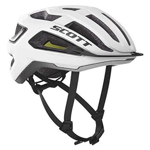 Scott Arx Plus (CPSC) Helmet (White/Black, Medium) - Adults' 2020