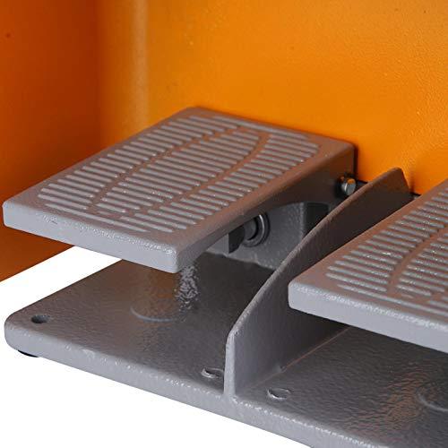 Interruptor de pedal, escudo de gran tamaño Interruptor de pie doble Pintura anticorrosión Interruptores eléctricos para máquina eléctrica Kit de clip de suministro de energía